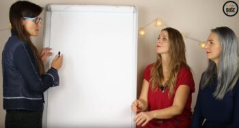 Video se Zuzkou Dudkovou - brainstorming na téma propagace výrobků či služeb