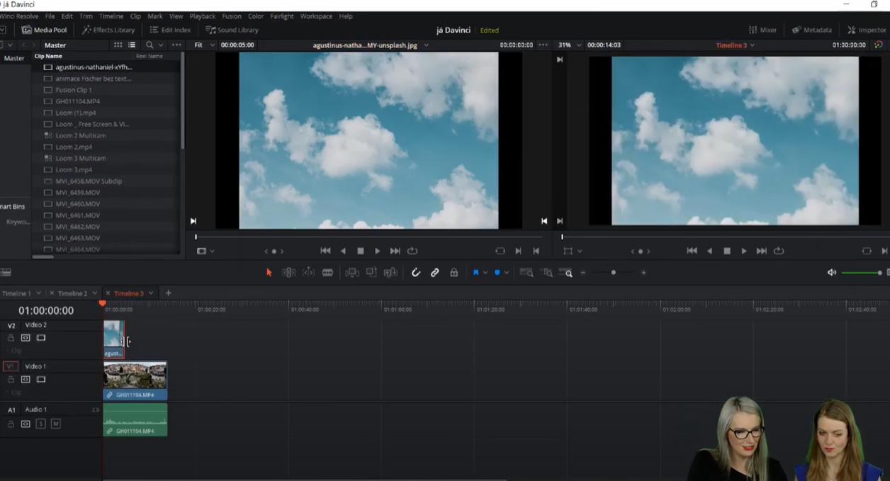 Návod na výměnu pozadí ve videu a naklíčování vlastních záběrů