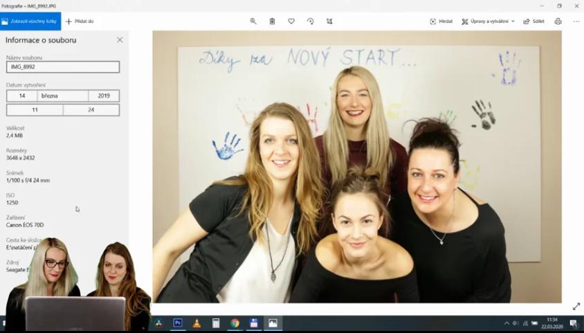 Jednoduchá úprava fotek, kterou zvládneme sami (na free i profi platformě)