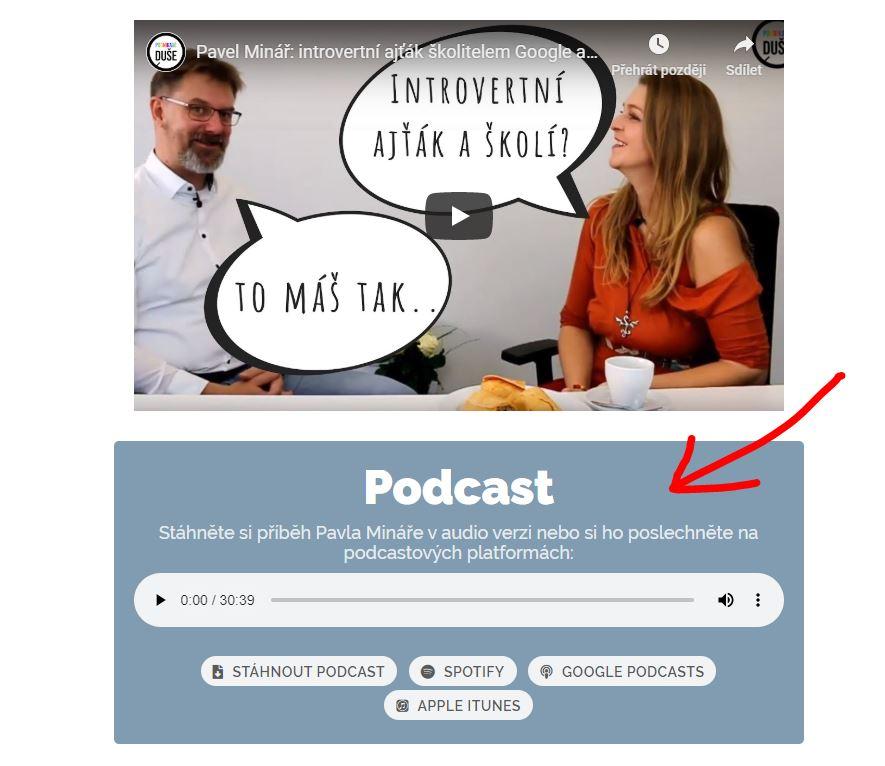 Podcast podnikavé duše